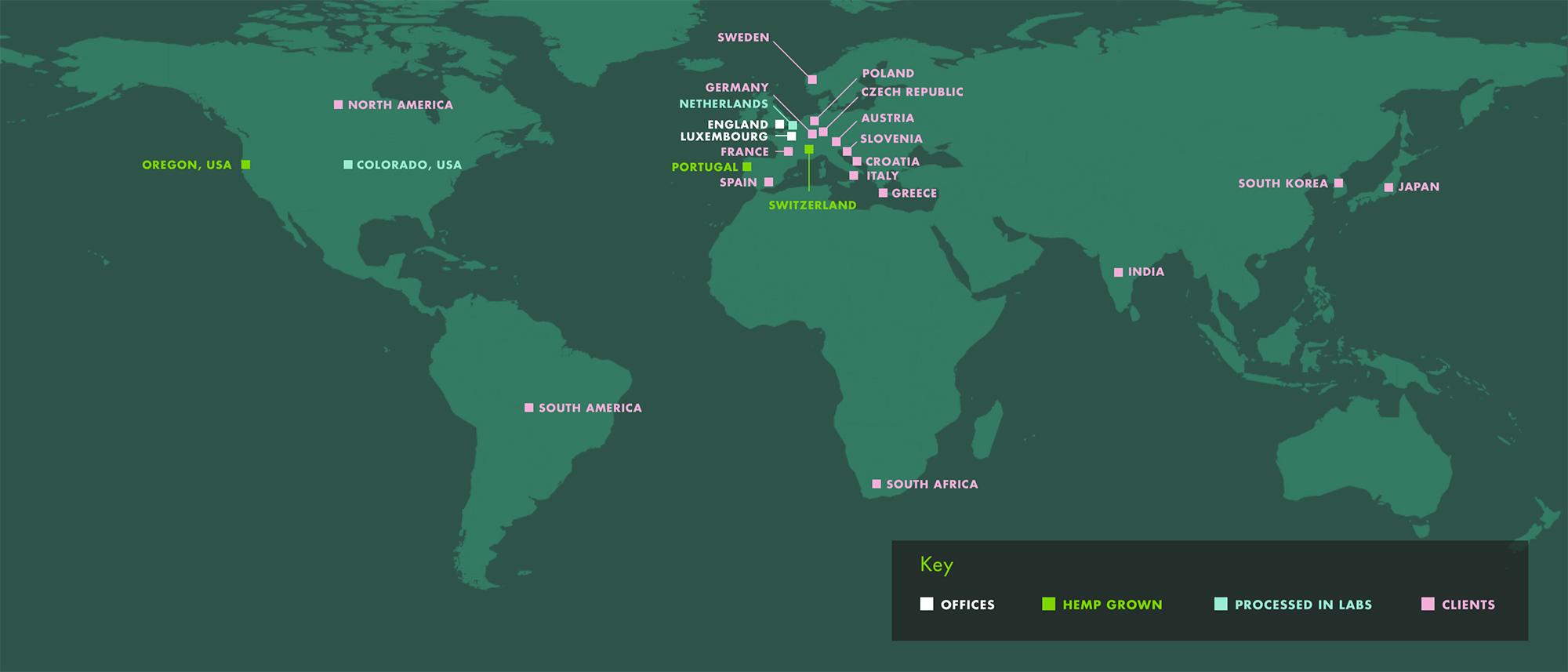 Leaf Sciences World-Map