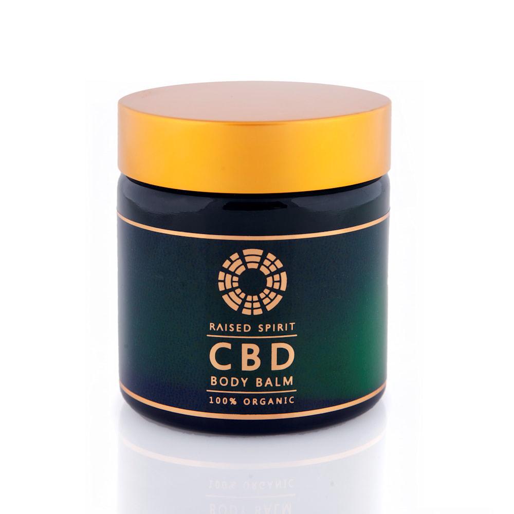 Raised Spirit Organic CBD Body Balm